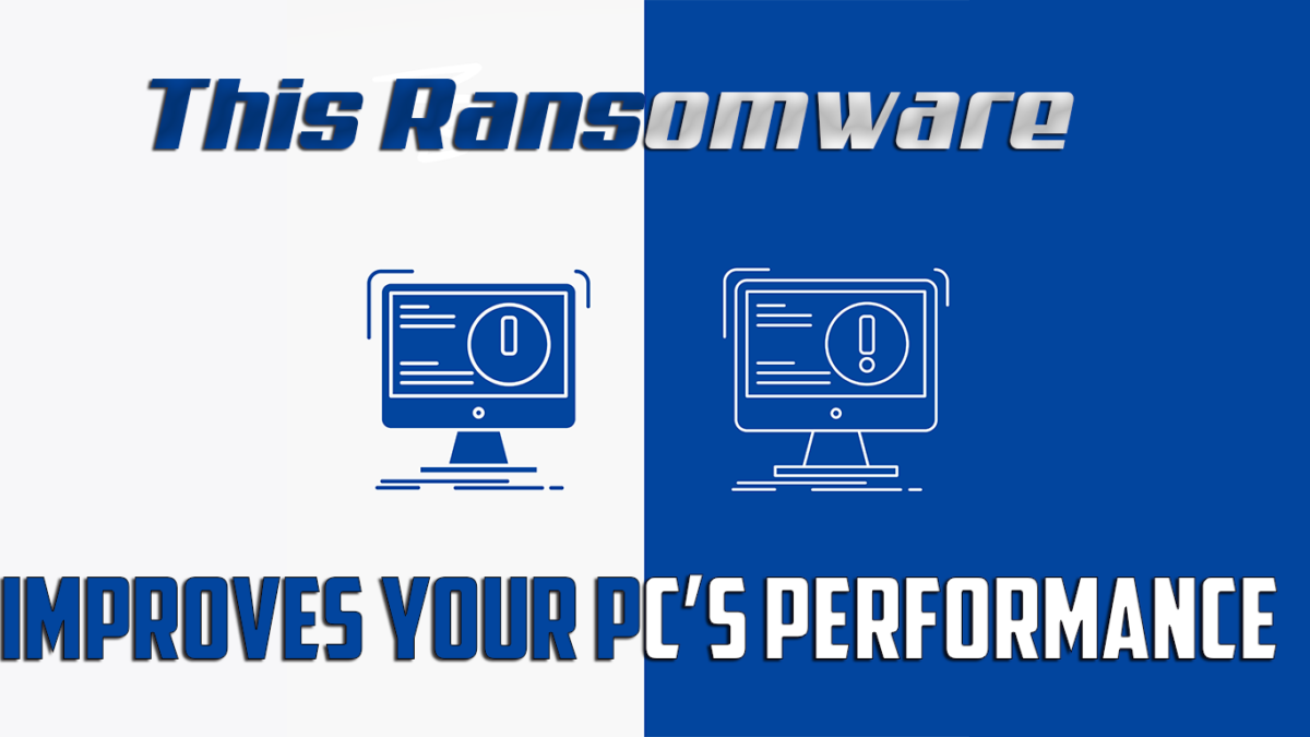 Meet vxCrypter: This Ransomware Improves Your PC's Performance