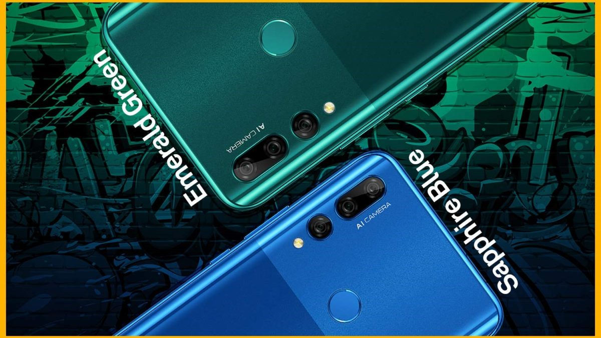 Huawei Y9 Prime 2019 listed on Amazon, full Specification