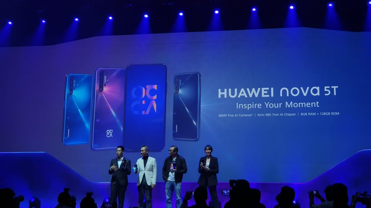 Huawei Nova 5T Globally launched with Quad camera, Full specs & Price