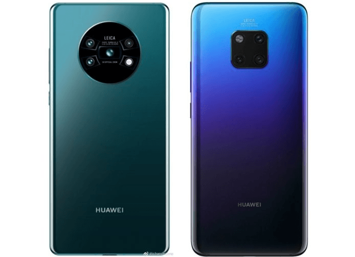 The Huawei Flagship Mate 30 and Mate 30 Pro Leaks and Rumors
