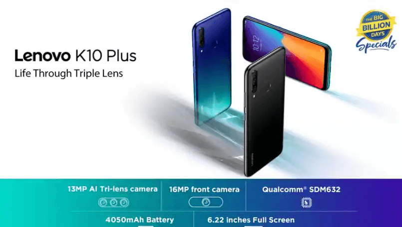 Lenovo K10 Plus launched in India, Full Specs and Price