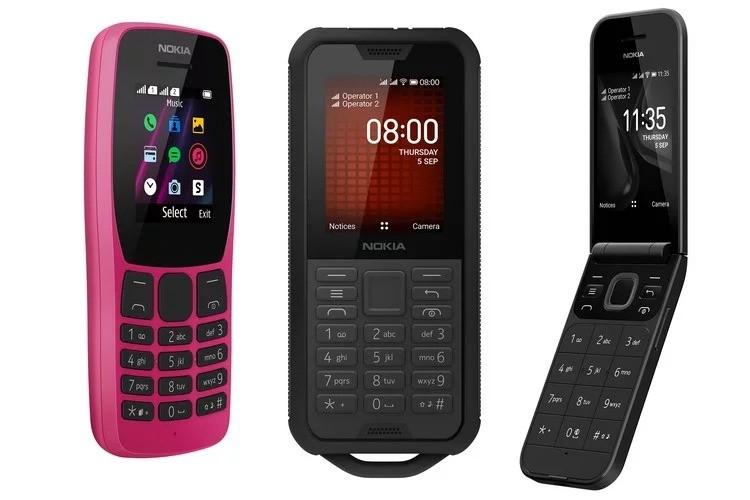 HMD Global Unveils Nokia 110 (2019), 800 Tough, 2720 Flip feature phone