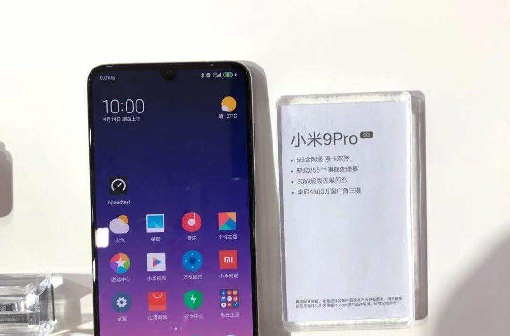 Xiaomi Mi 9 Pro 5G comes with Qualcomm Snapdrgon 855+ Soc