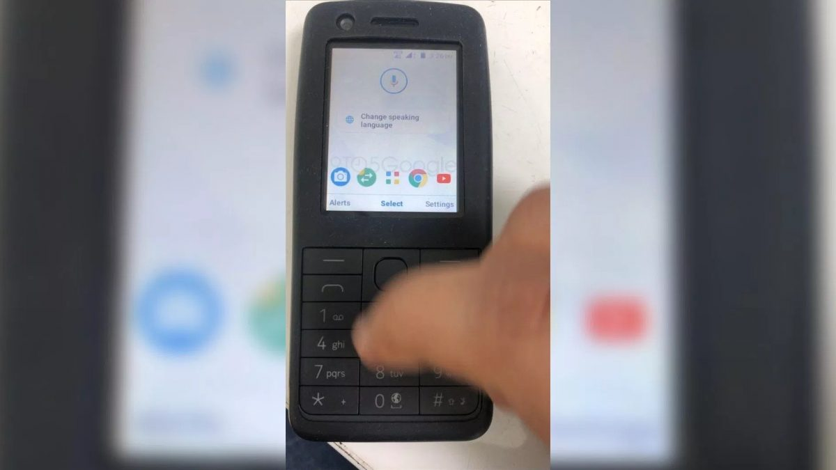 Nokia Feature Phone Powered by Google Android Feature apps Services