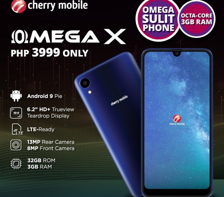 Cherry Mobile Omega X launched in PH, full specs and Price