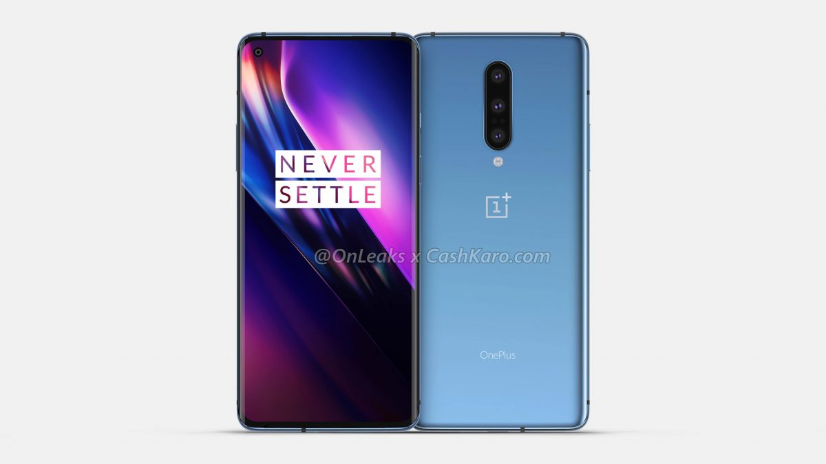OnePlus 8 Official renders leak online identical to the OnePlus 7 Pro
