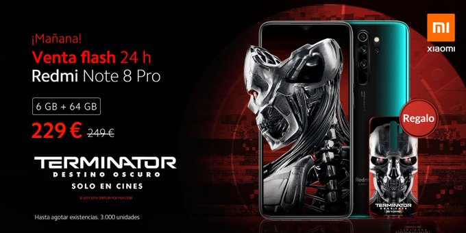 Redmi Note 8 Pro Terminator Edition Launched in Spain, Full specs and price