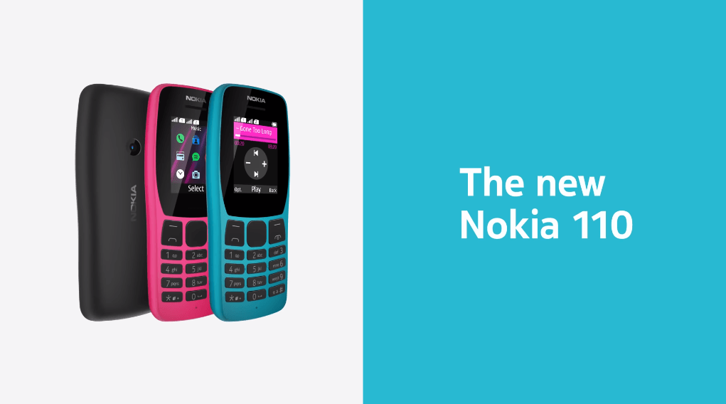 Nokia 110 feature phone launched in India at Rs 1,599 starting October 18