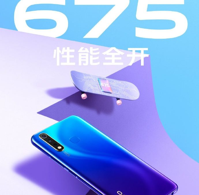 Vivo U3 (V1914A/T) With  Snapdragon 675 SoC, AI triple rear in China