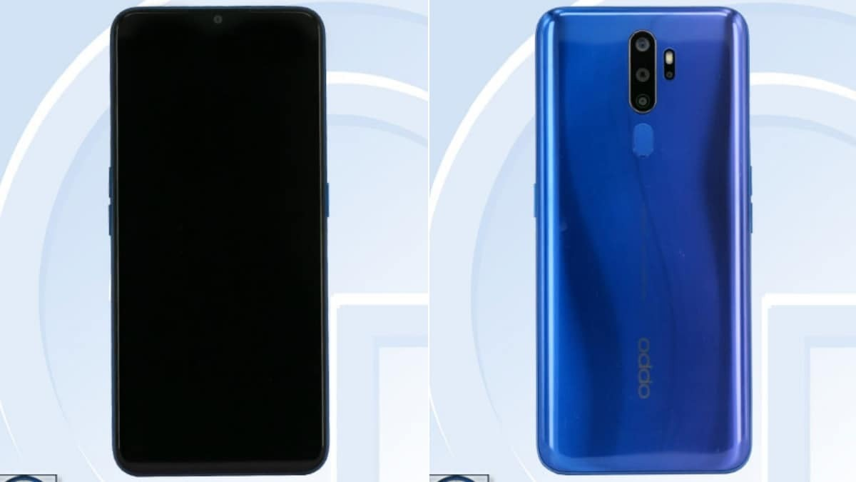 Oppo A11 Spotted on China Telecom with a waterdrop-style notch