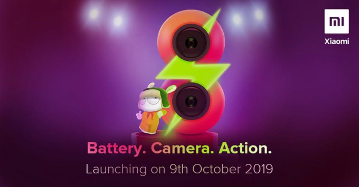 Redmi 8 launch date confirmed as 9 October 2019 In India