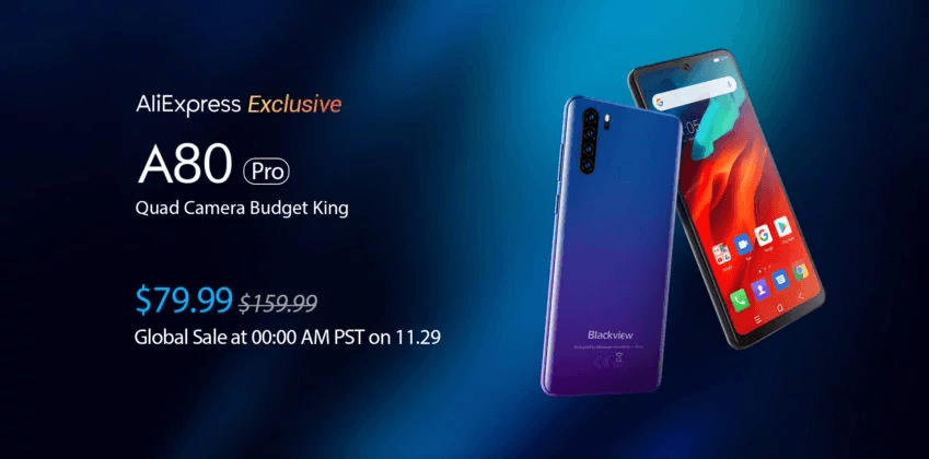 Blackview A80 Pro launched with Quad camera setup, full specs and Price