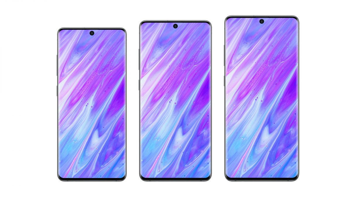 Samsung Galaxy S11 Series Have 5 Smartphone With Curved Display