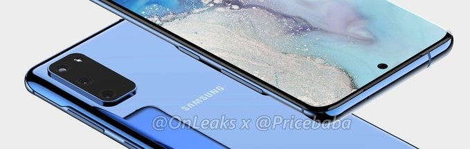 Samsung Galaxy S11e With Curved display, Punch-hole and Triple camera