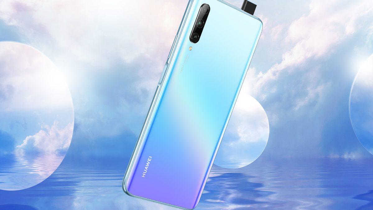 Huawei Y9s official With side-fingerprint sensor and Pop-Up Selfie Camera