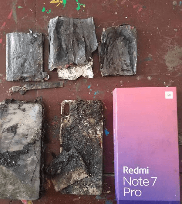 Redmi Note 7 goes into Flames due by External Factors: Reportedly Again