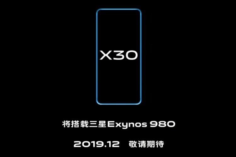 Vivo X30 Series With Exynos 980, Dual-mode 5G support in September