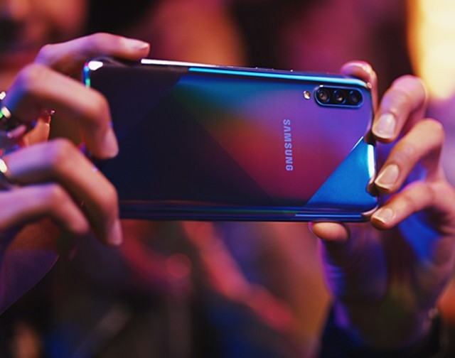 Samsung Galaxy A70s with Infinity Displays & Triple Rear Cameras -Detail