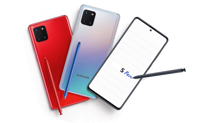 Samsung Galaxy Note 10 Lite Full Specification Leaked