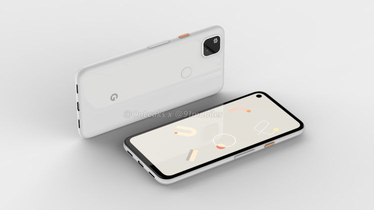 Google Pixel 4A Renders Shows Punch-Hole Display