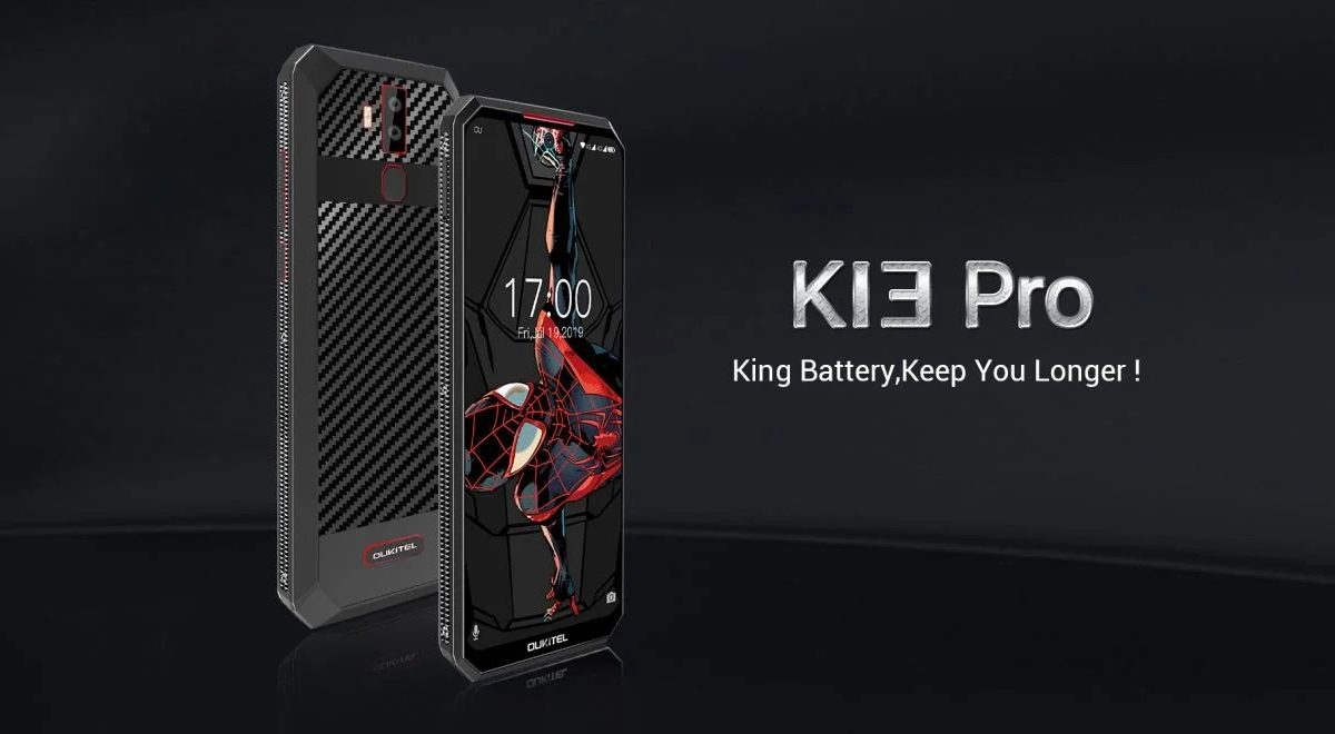 OUKITEL K13 Pro With 11000mAh battery using 5V/6A charger at $170