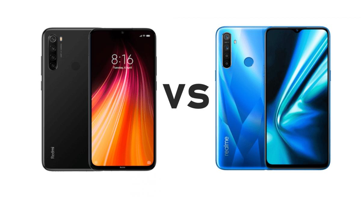 Realme 5s vs Redmi Note 8 full Specification and Price (Mobile Comparison)