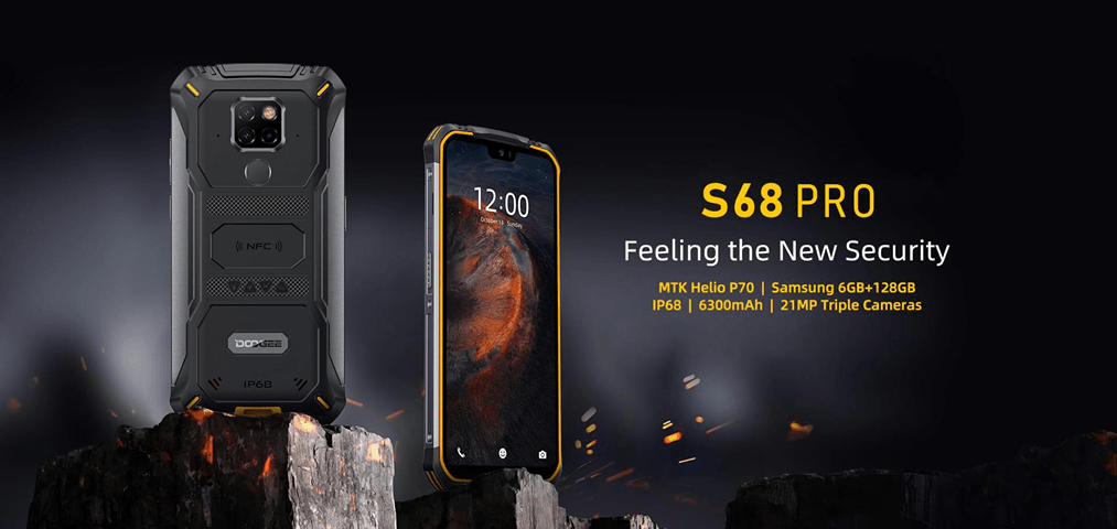 DOOGEE S68 Pro launched in China with MediaTek Helio P70, full specs and Price