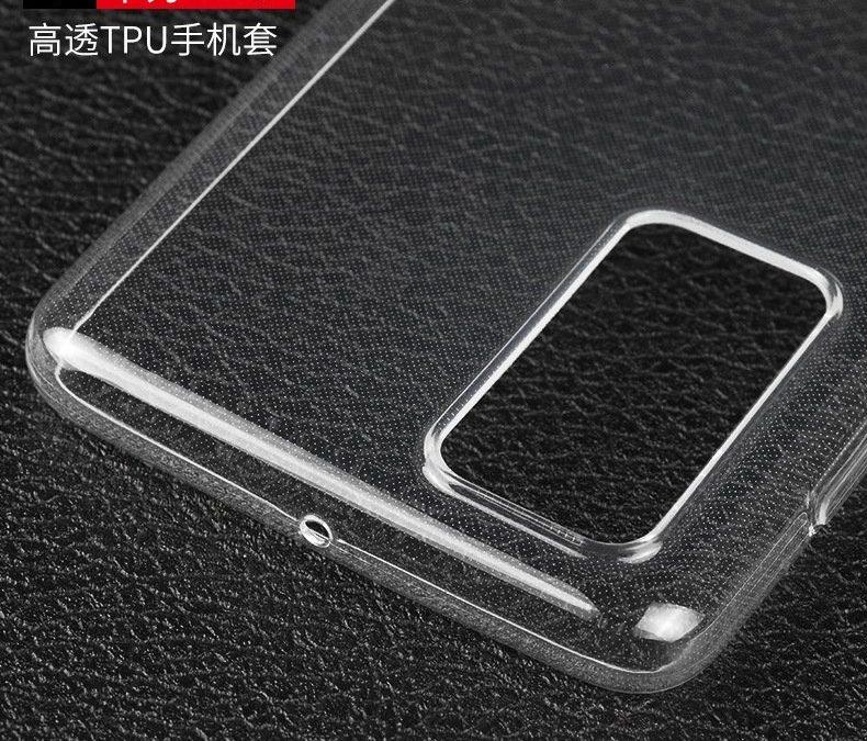 Huawei P40 TPU Protection Case Leake Reveal Design Language