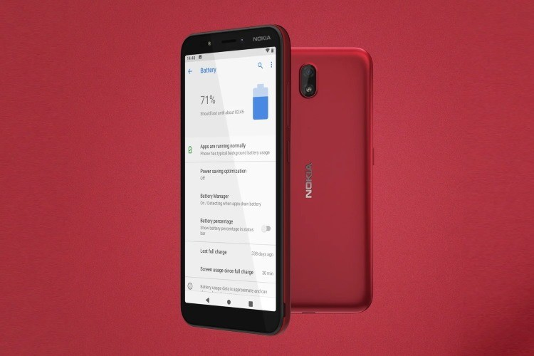 Nokia C1 Entry-level Android 9 Pie (Go Edition) Launched With 3G Support