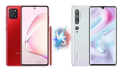 Samsung Galaxy Note 10 Lite vs Xiaomi Mi Note 10 Specification & Price  (Mobile Comparison)