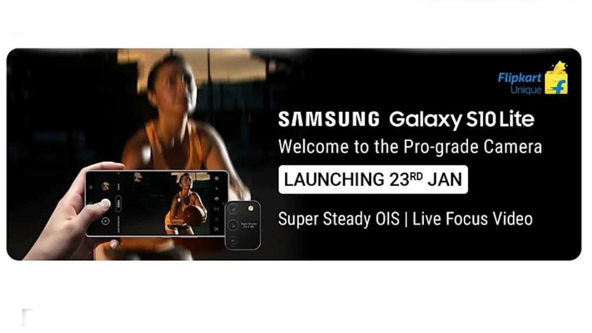 Samsung Galaxy S10 lite launch date set to be in India On 23 January, Teased by Flipkart