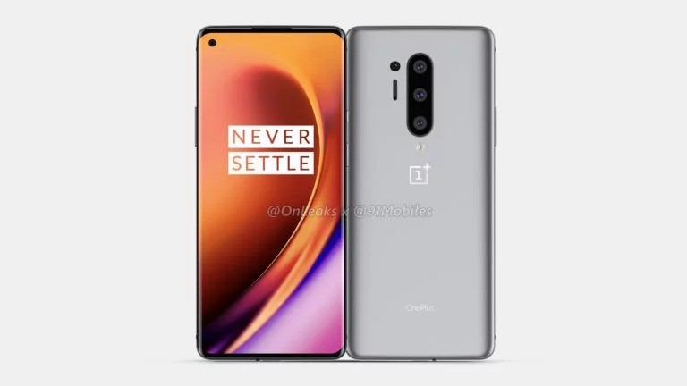 OnePlus 8 Pro appear screen protectors and renders with Punch-hole display design