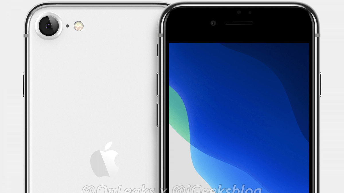 iPhone 9/ SE 2 CAD-based Render Reveals and Design Key Specification