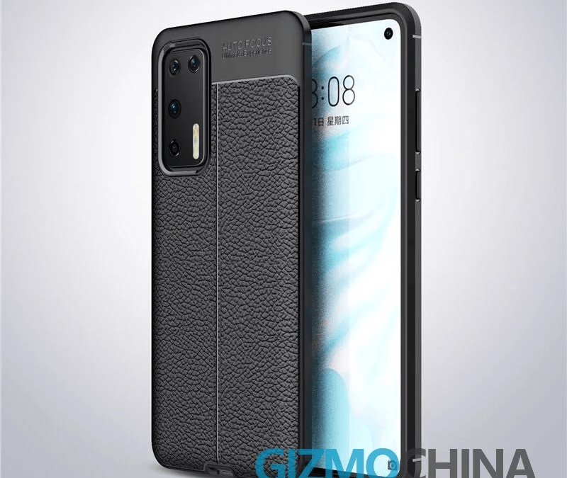 Huawei P40 Case Renders appeared with Quad Camera and Punch-hole