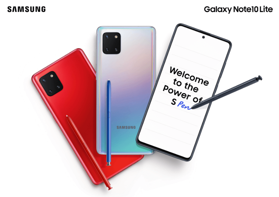 Samsung announced Galaxy S10 Lite and Note 10 Lite Specifications