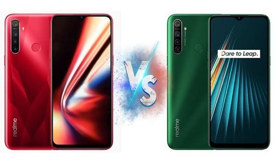 Realme 5i vs Realme 5s full Specification and Price (Mobile Comparison)