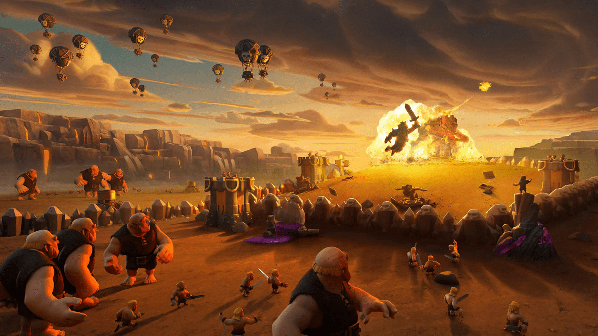 Clash of Clans 27% Increase Over 2018 With $727 Million in 2019