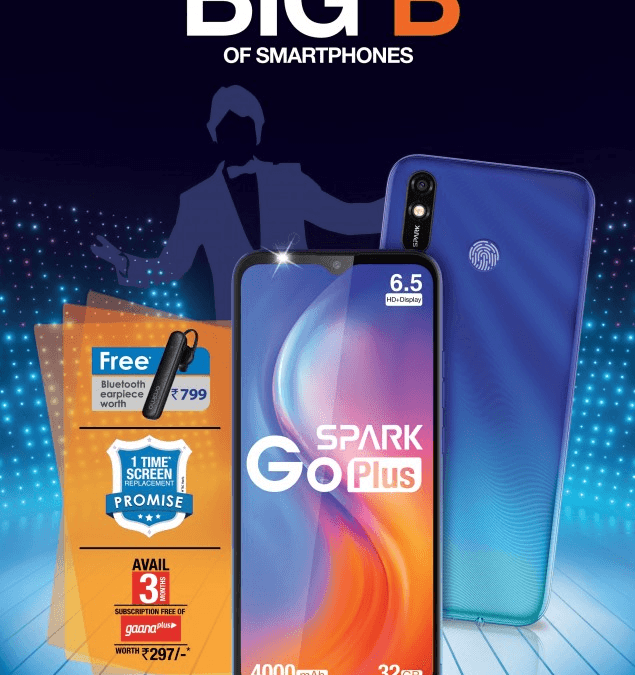 Tecno Spark Go Plus With Helio A22 SoC and 4,000mAh launched in India
