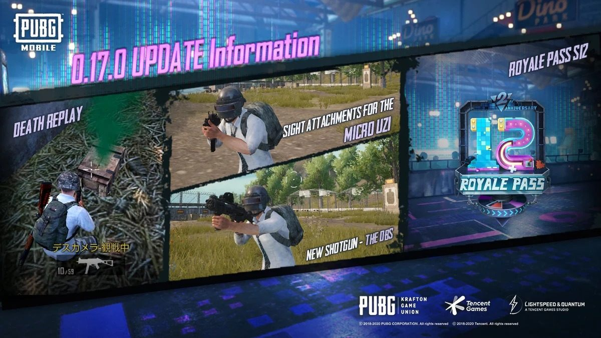 PUBG Mobile 0.17.0 is Out and Royal pass Season 12 release date Confirmed