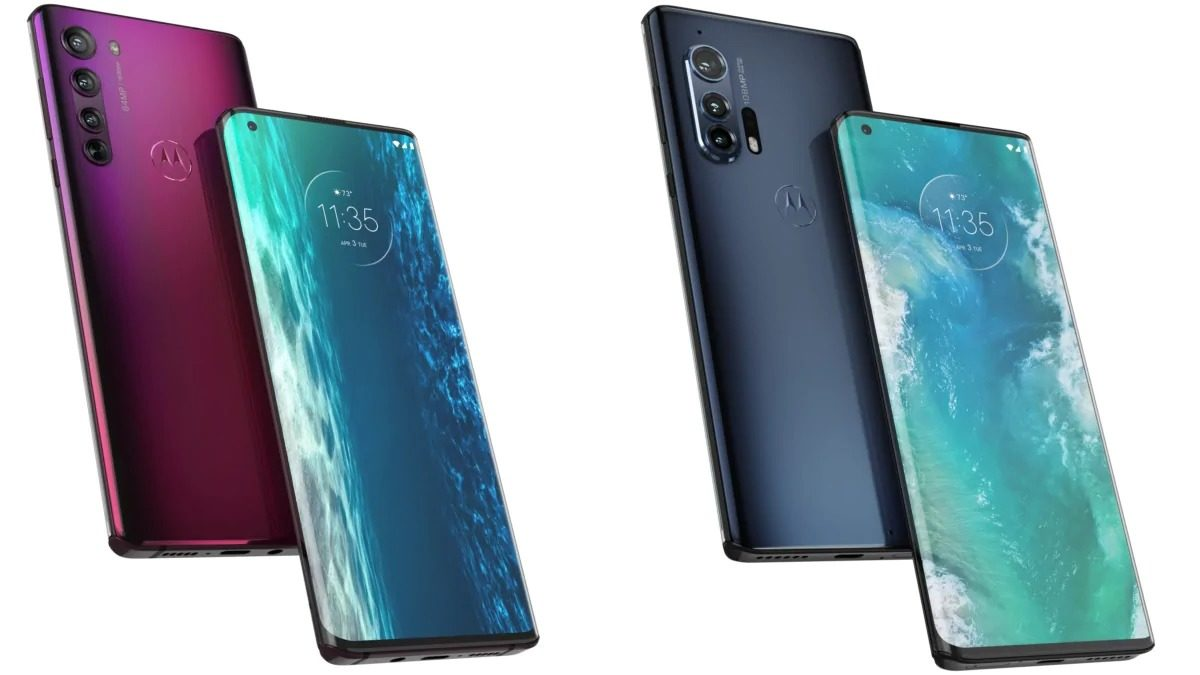 Motorola Edge and Motorola Edge+ Launched With Curved 90Hz OLED Display, Triple Rear Cameras Launched: Price, Specifications
