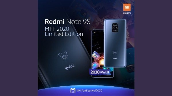 Xiaomi Announces Redmi Note 9S MFF 2020 Limited Edition, Full Specification and Price