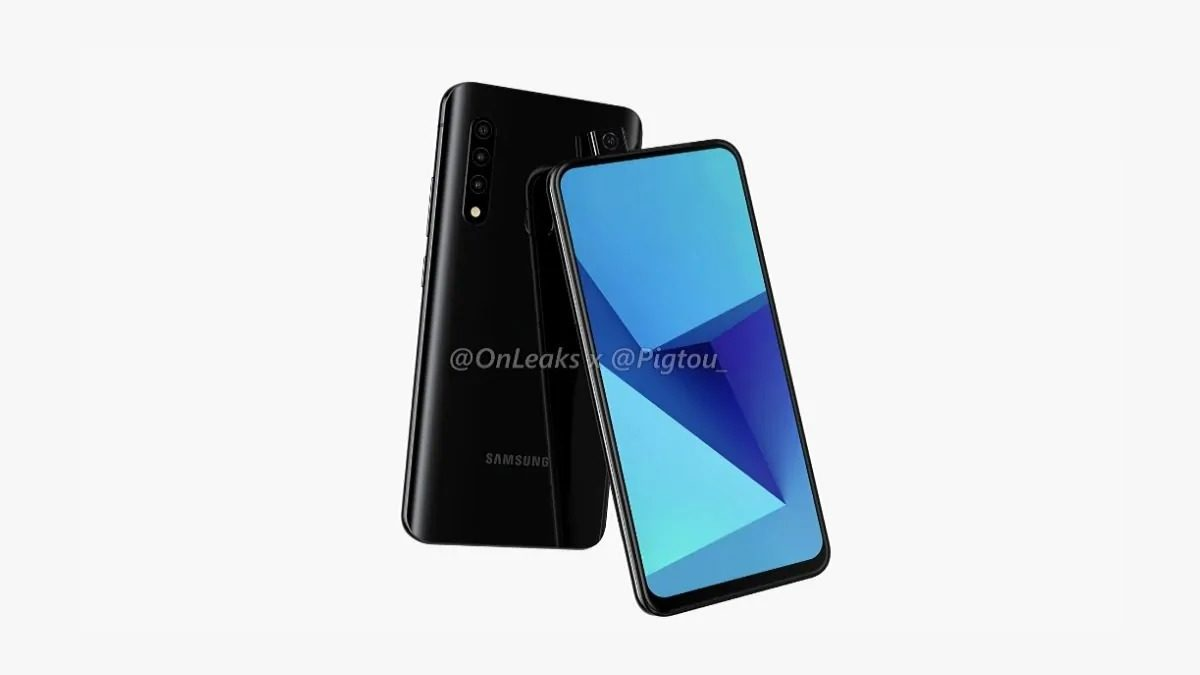 Samsung working on pop-up selfie camera; design and the raiders of the Device surface online