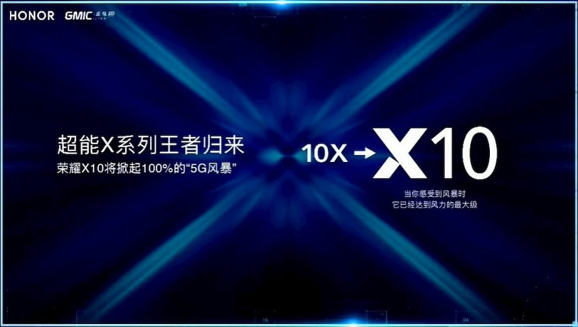 Honor X10 is listed on TENAA certification revealed key Specifications