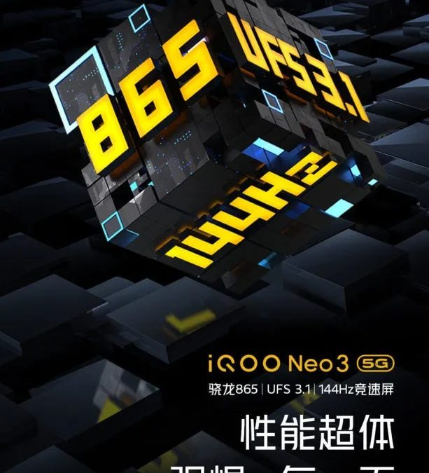 iQOO Neo 3 confirmed to comes with 144Hz and Release Date