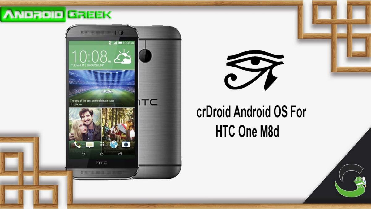 How to Download and Install crDroid OS on HTC One M8d [Android 10]