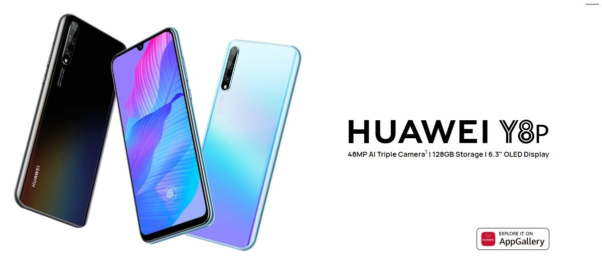 Huawei officially launched its Huawei Y8P in Myanmar for €245 with Kirin 710F go on sale from May 29th