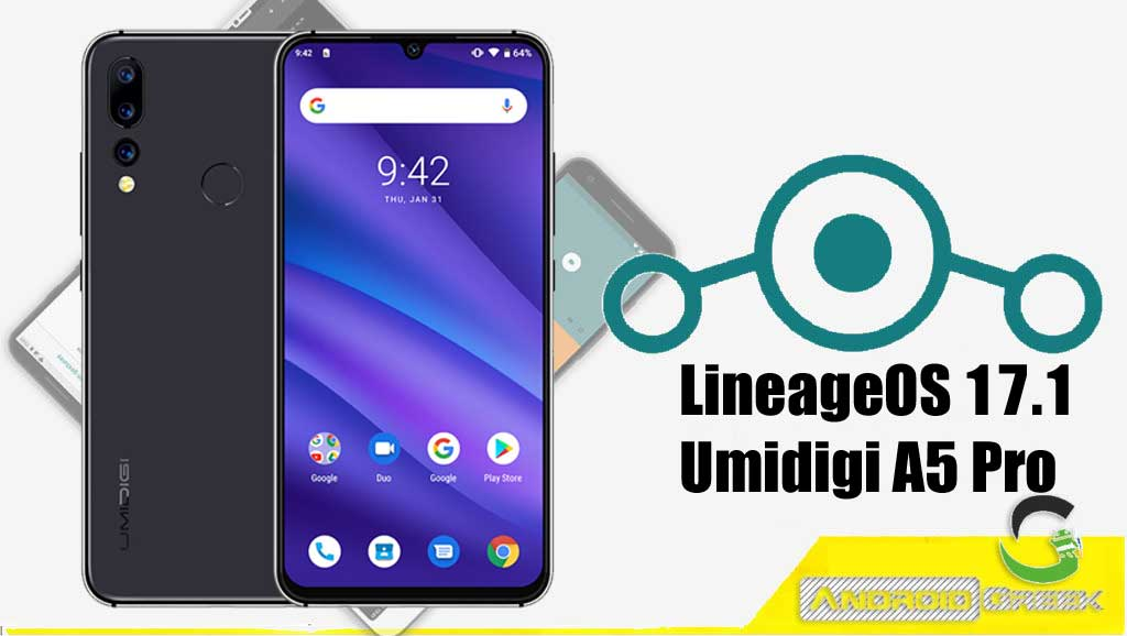 How to Download and Install LineageOS 17.1 for Umidigi A5 Pro [Android 10]