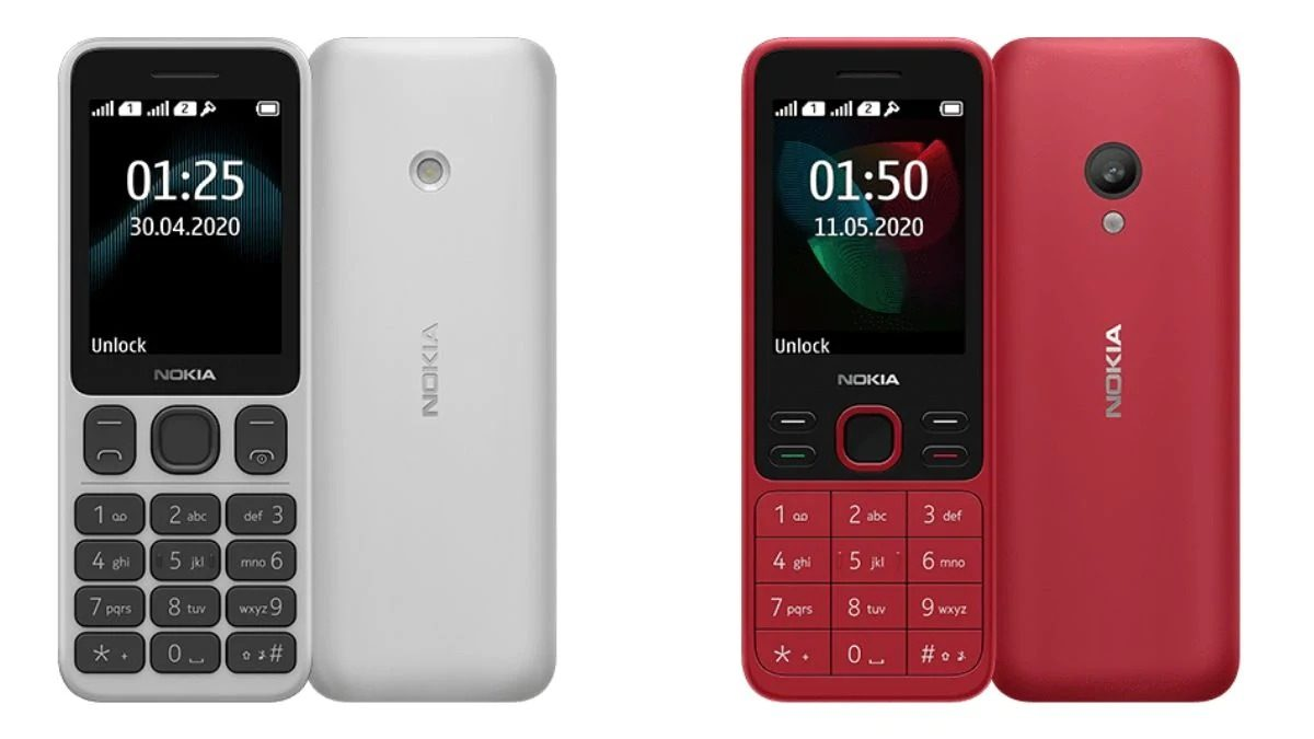 HMD Global Launched its New Nokia 150 and Nokia 125, Full Specification and Price