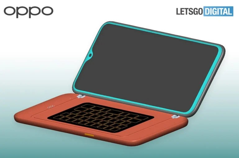 Oppo has patent new design with QWERTY keypad Case for Smartphone