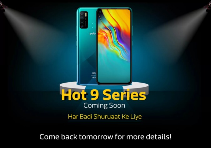 Infinix Hot 9 Series Announces to launch in India, Flipkart confirms the launch date with some key Specifications